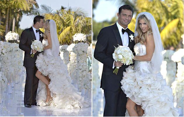 Simply Stunning: Joanna Krupa's Wedding Photos!