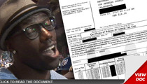 Terrell Owens -- KO's $430,000 Tax Bill