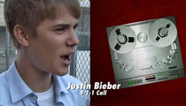 Justin Bieber 911 Call -- Photographer: 'I'm Really Scared' of His Bodyguards