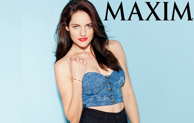 """Breaking Amish"" Star Strips Down for Maxim!"