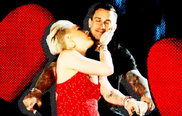 """New Video: P!nk Shows Soft Side in """"True Love""""!"""