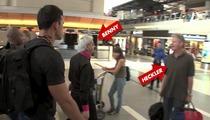Televangelist Benny Hinn -- Heckled at Airport ... 'World's Greatest Scammer'