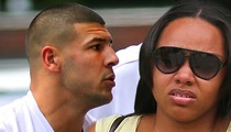 Aaron Hernandez -- Fiancée Called Cops After Bloody Mess at All-Night Party