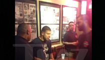 Aaron Hernandez -- Kicked Out of Bar After Pounding Tequila