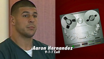 Aaron Hernandez Bloody Fist 911 Call -- 'He's Losing a Lot of Blood'