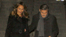 George Clooney & Stacy Keibler -- Still Shacking Up ... For Now