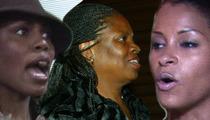 Judge to Omarosa's Mom -- Nut Up!! Claudia Jordan's No Threat to You