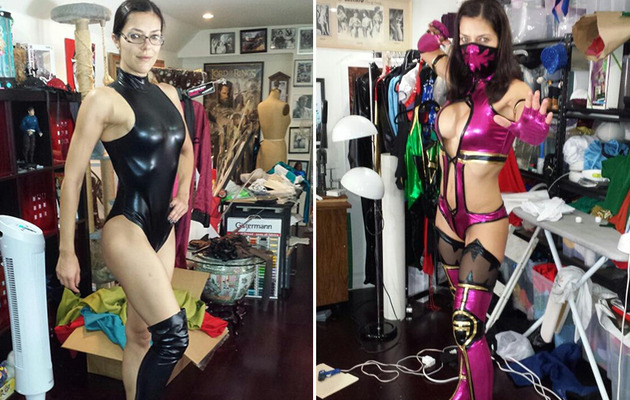 Adrianne Curry's Sexy Comic-Con Costumes Revealed!