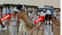 Demi Moore -- Top Secret Yoga Fest in New Mexico
