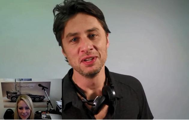 Viral Video: Zach Braff Helps Musician Propose!