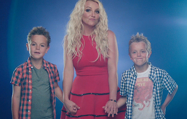 Britney Spears' Sons Star In Her New Music Video