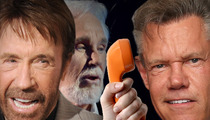 Randy Travis -- Get Well Phone Call From CHUCK NORRIS!!!