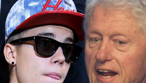 Justin Bieber to Bill Clinton -- Sorry I Dropped F-Bomb on You