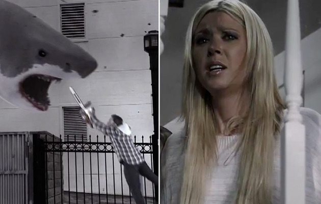 """Sharknado"" Trailer Is the Most Ridiculous Thing Ever"