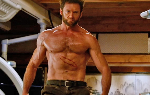 "Watch 4 Minutes of Clips of Hugh Jackman In ""The Wolverine"""
