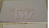 LeBron James -- The 'Mission Impossible' Wedding Invites