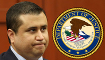 George Zimmerman -- Not Off the Hook (Maybe) ... FEDS Could Prosecute