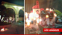 Cory Monteith -- Memorials at Paramount Studios & Death Hotel