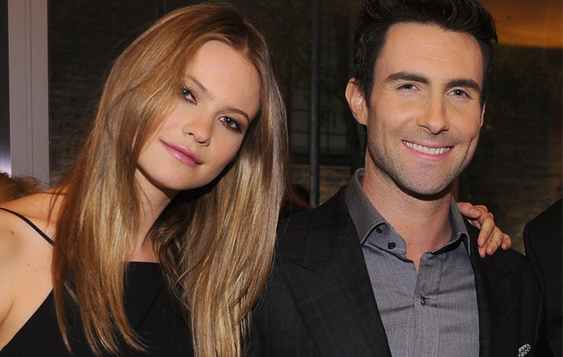 Adam Levine, Behati Prinsloo Engaged -- See How They Celebrated!