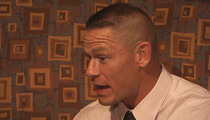 WWE Champ John Cena -- Girlfriend Pops Dreaded Question