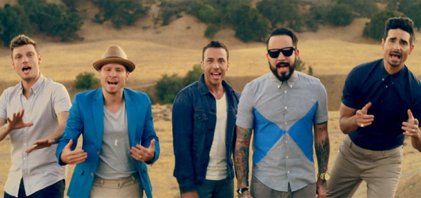 Backstreet's Back! Check Out Their New Music Video