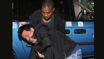 Kanye West -- FELONY SUSPECT FOR ATTEMPTED ROBBERY