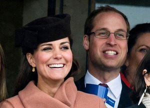 Kate Middleton Gives Birth -- The Proud Parents!
