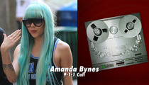 Amanda Bynes 911 -- Caller Describes Makeshift Gas Bomb