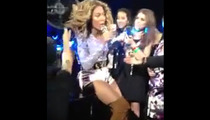 Beyonce -- HELP, MY HAIR IS STUCK IN THE FAN!!!!!