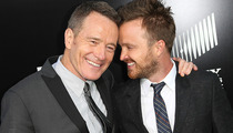 "Bryan Cranston & Aaron Paul's Bromance at ""Breaking Bad"" Premiere!"