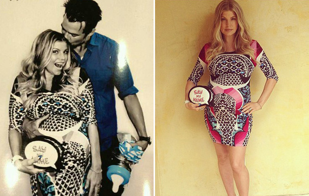 "Fergie & Josh Celebrate Parenthood with ""Gayby"" Baby Shower!"