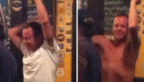 Kiefer Sutherland -- Boozes With Canucks ... Flashes Nipples