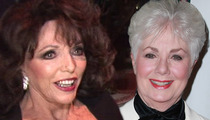 Joan Collins to Shirley Jones -- You're LYING!!! I'm Not Into 4-Ways