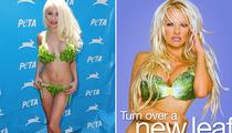Courtney Stodden Wears Lettuce Cup Bikini for PETA!