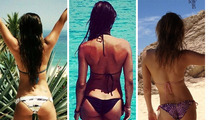 Celeb Beach Buns -- Guess Who!