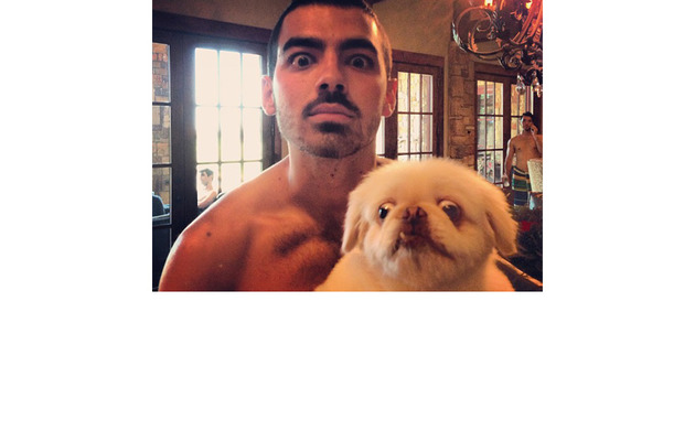 Joe Jonas Posts Shirtless Selfie of His Own!