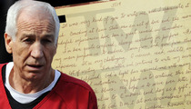 Jerry Sandusky Letters from Prison -- 'I'm Trying to Get Better'