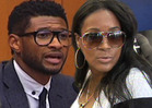 Usher's Ex-Wife Tameka Raymond -- I Want Custody ... Our Kids Are In Da