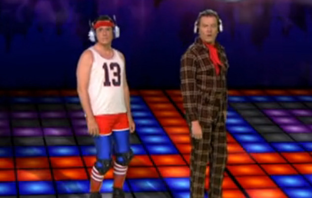 Stephen Colbert Recruits A-List Friends for Daft Punk Dance Party!