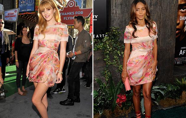 Dueling Dresses: Bella Thorne vs. Jada Pinkett Smith