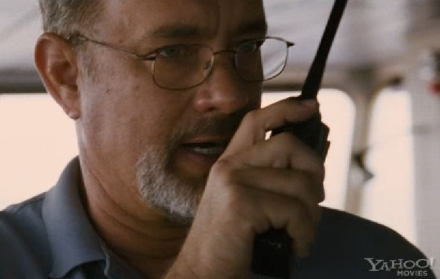 "Tom Hanks Held Captive in ""Captain Phillips"" Trailer!"