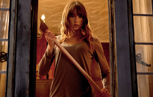 """You're Next"" Star Reveals Favorite Horror Movies & On-Set Antics"