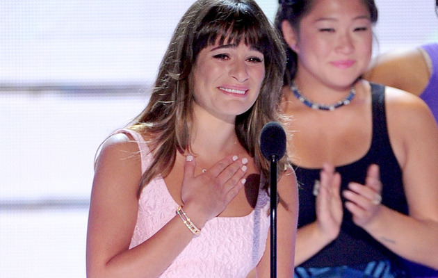 Lea Michele's Moving Tribute to Cory Monteith at Teen Choice Awards