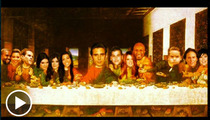 The Kardashian Last Supper -- Jesus, Lord Disick!