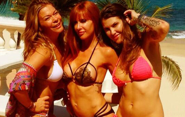 LeAnn Rimes Dances Around In a Bikini for Friend's B-Day!