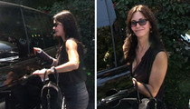 Courteney Cox -- Cast In New Role ... Gimp