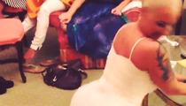 Amber Rose Twerks In Her Wedding Dress!