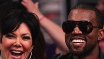 Kanye West REVEALS Pic of North West ... On 'Kris Jenner Show'