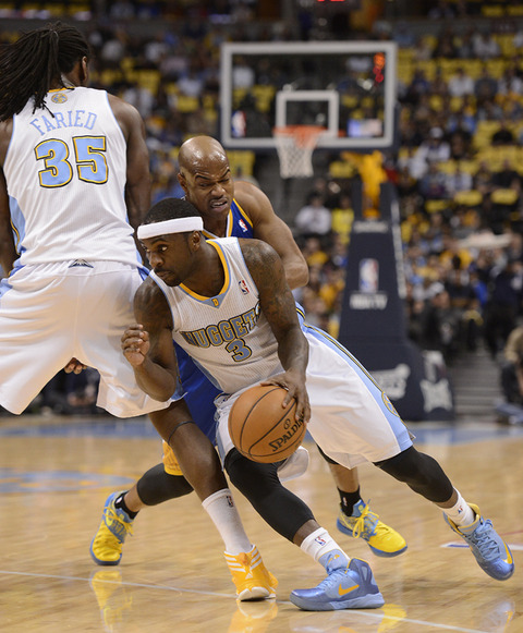 Denver Nuggets Watch Party: Denver Nuggets Star Ty Lawson On The Court