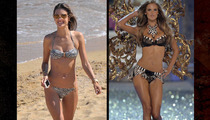 Alessandra Ambrosio -- Mistress of Disguise, Until Now ...
